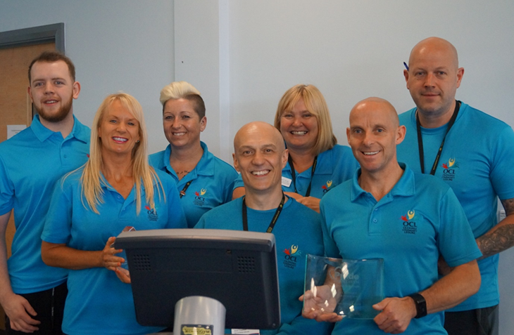 Oldham Community Leisure Staff